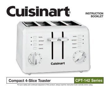 CPT 190 Countdown Metal 4 Slice Toaster Cuisinart