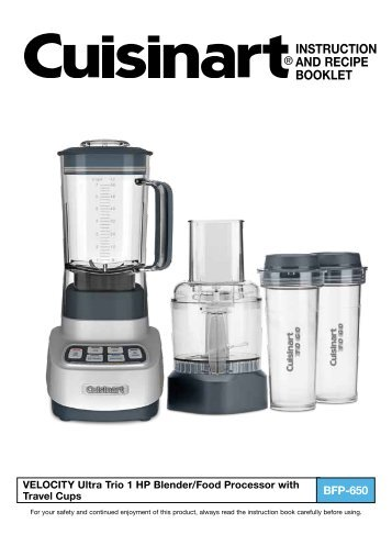 Cuisinart premier series 7 cup food processor model dlc 2007n cuisinart velocity ultra trio 1 hp blenderfood processor with travel cups bfp forumfinder Image collections