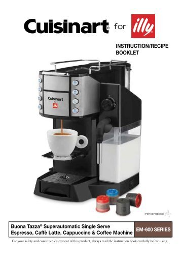 black white coffee machine manual