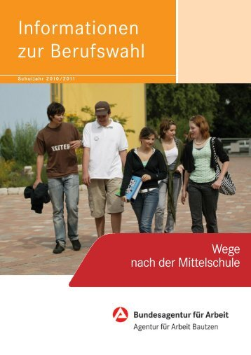 Regionalschrift Sek. I 2010/2011 - planet-beruf regional - Planet ...