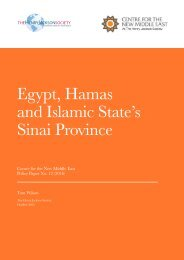 Egypt Hamas and Islamic State's Sinai Province