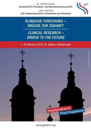 Bridge To The Future   Congress Info.ch | Home