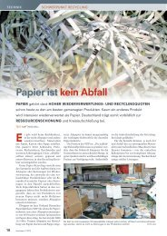 Papier ist kein Abfall - Krämer Lufttechnik Absaug