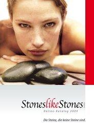 Die Steine, die keine Steine sind.