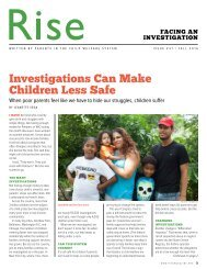 Investigations Can Make Children Less Safe