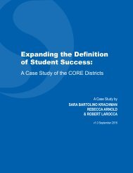 of Student Success