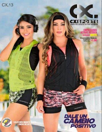 Catalogo CXSPORTS C13