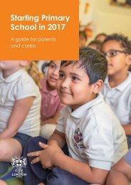Starting Primary School in 2017