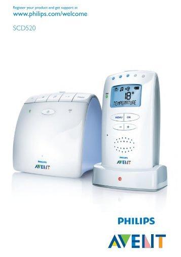 Baby basics hk-philips avent dect baby monitor.