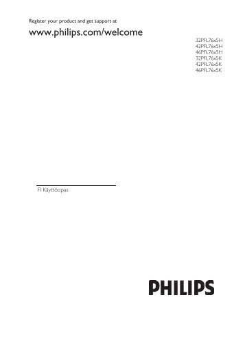Philips LCD TV - User manual - FIN