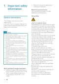 Philips GoGEAR MP3 player - User manual - ENG - Page 4