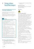 Philips GoGEAR MP3 player - User manual - NOR - Page 4