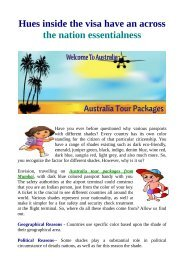 Best tour in Australia By Flamingo Travels