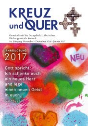 Gemeindebrief Kronach