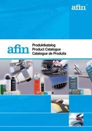 Katalog AFIN