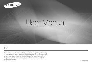 Samsung i8 (EC-I8ZZZBBA/E2 ) - Manuel de l'utilisateur 12.36 MB, pdf, Français