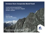 Invesco Euro Corporate Bond Fund - Euroswitch