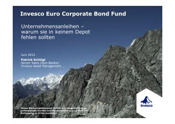 Invesco Euro Corporate Bond Fund - Euroswitch