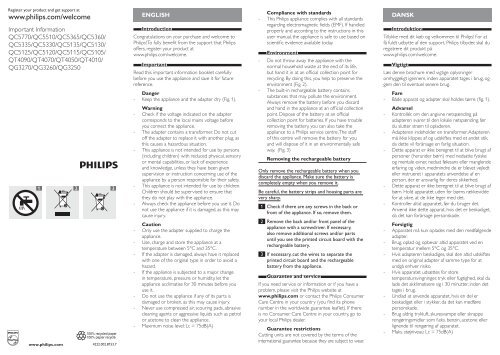 Philips norelco do it yourself hair clipper manual and user guide philips norelco do it yourself hair clipper important information manual ara solutioingenieria Gallery