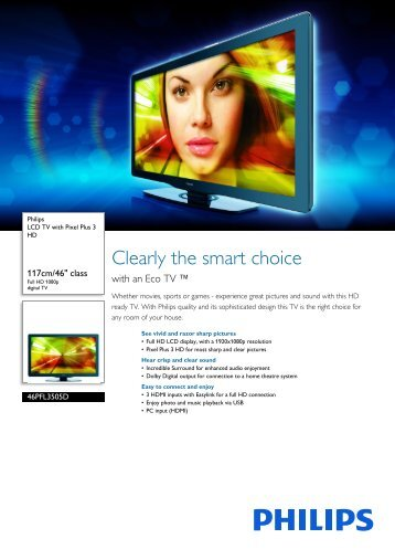 Philips LCD TV - Leaflet - AEN