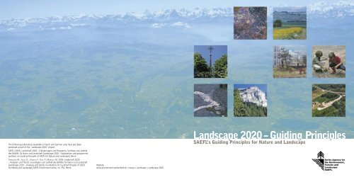 Landscape 2020 - admin.ch