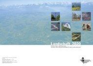 Landschaft 2020 - Schweizer Informationssystem Biodiversität ...