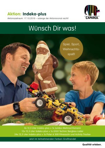 Indeko Plus Weihnachtsaktion