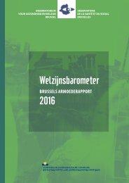 Welzijnsbarometer 2016