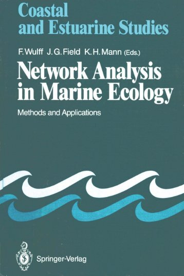 Network Analysis in Marine Ecology: Methods and Applications