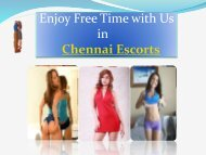 Dating Services Escorts in Chennai