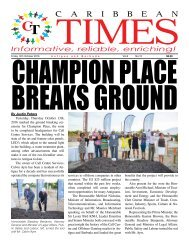 Caribbean Times 15th Issue - Friday 14th October 2016