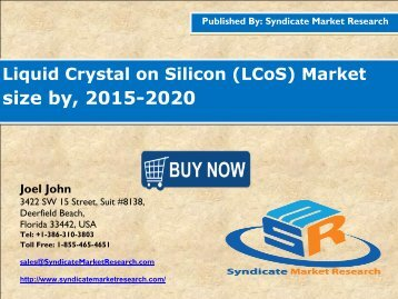 Liquid Crystal on Silicon (LCoS) Market