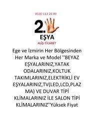 Manisa Spot Eşya Alanlar,05301132699,Manisa