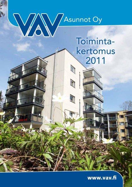 VAV Toimintakertomus 2011