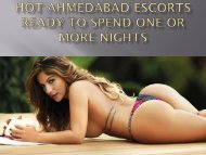 Do You Know About Ahmedabad Escorts