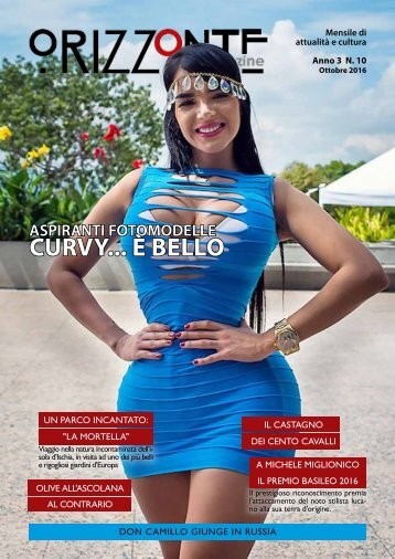 Orizzonte Magazine n°10 Ottobre 2016