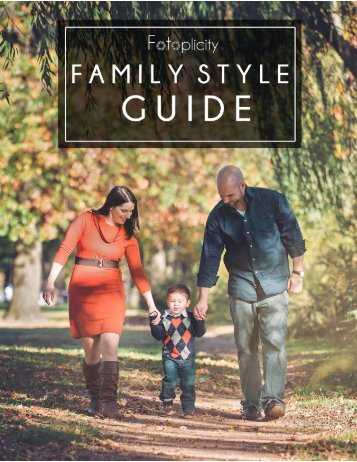 Fotoplicity Family Style Guide