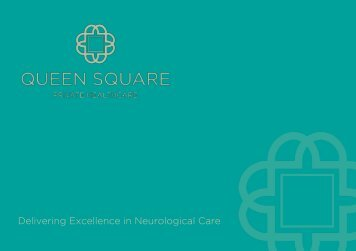 Queen Square Private Healthcare e-Brochure