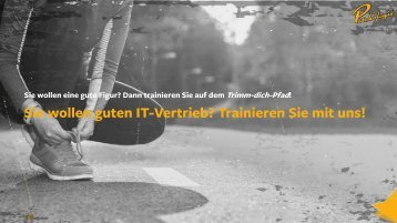 Pitchologie Kurzüberblick über Trainings & Services