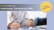 Substituição Tributária do ICMS