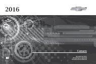 Chevrolet 2016 Camaro - View Owner's Manual