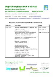 Datenblatt Vertiplant Balkongeländer Typ Edelstahl  V2A