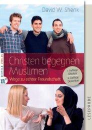 christen-begegnen-muslimen_shenk_leseprobe