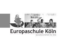 Elterninformation Fremdsprachen - Europaschule Köln