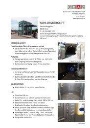 SCHLOSSBERGLIFT - Graz Tourismus