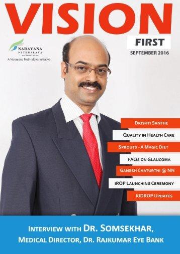 Vision First Online Magazine September 2016