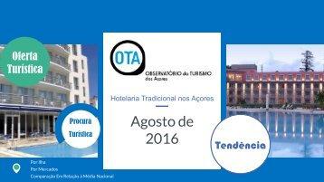 Hotelaria Tradicional Açores_Agosto 2016