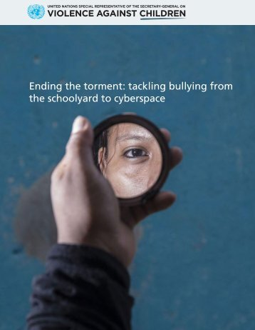 Ending the torment tackling bullying from the schoolyard to cyberspace