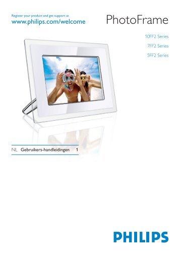Philips PhotoFrame - User manual - NLD