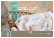 Ferrum Living Home & Garden Accessoires 2016/17
